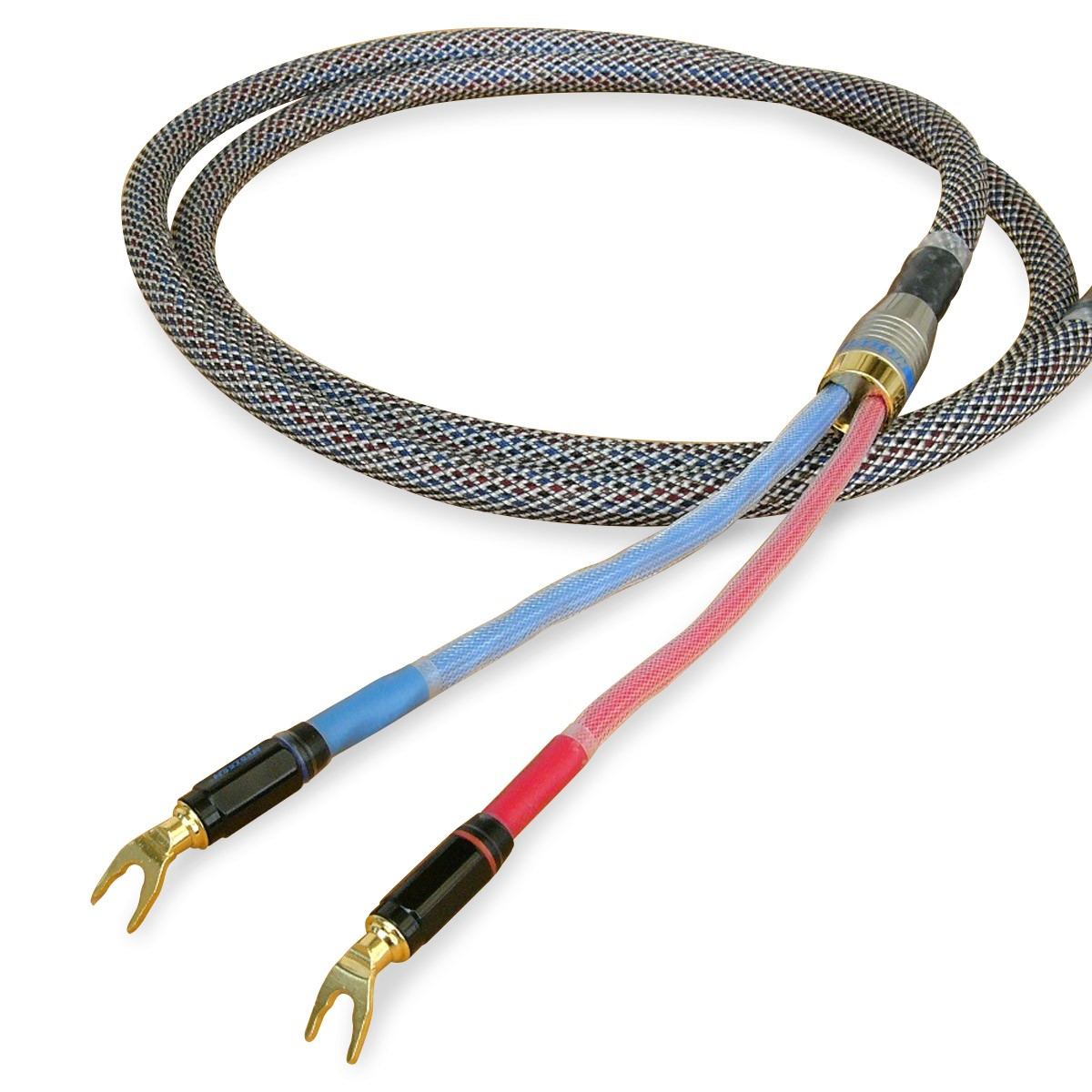 NEOTECH NES-3001 Gold Plated UP-OCC Copper Speaker Cable 17AWG Ø15mm 2m (A pair)