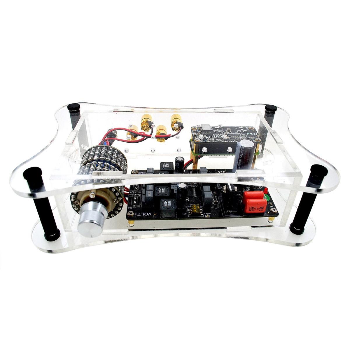 MINIBOSS PLAYER PLUS Lecteur Réseau Volumio avec Amplificateur et DAC 32bit 384kHz