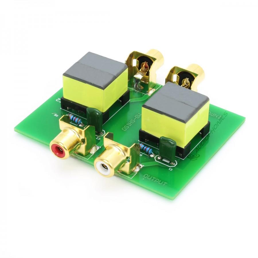 Audio Isolation Transformer Ground Loop RCA - Audiophonics