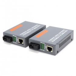Transmetteur convertisseur Ethernet vers Fibre Optique