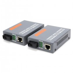 Transmitter converter Ethernet to Optic fiber