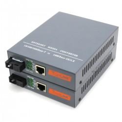 Convertisseur Ethernet vers Fibre Optique (La paire)