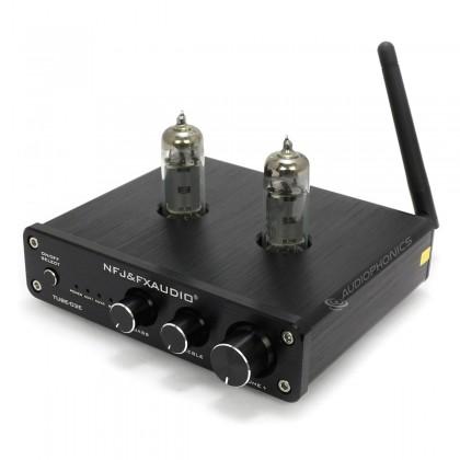 FX-AUDIO TUBE-03E Stereo 6K4 Tube Preamplifier Bluetooth Black