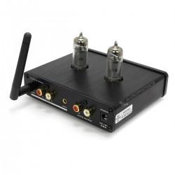 FX-AUDIO TUBE-03E Préamplificateur à Tubes 6K4 Stéréo Bluetooth Noir