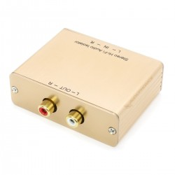 Audio Isolation Transformer Ground Loop RCA