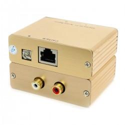 Passive RCA Modulation to RJ45 Extender