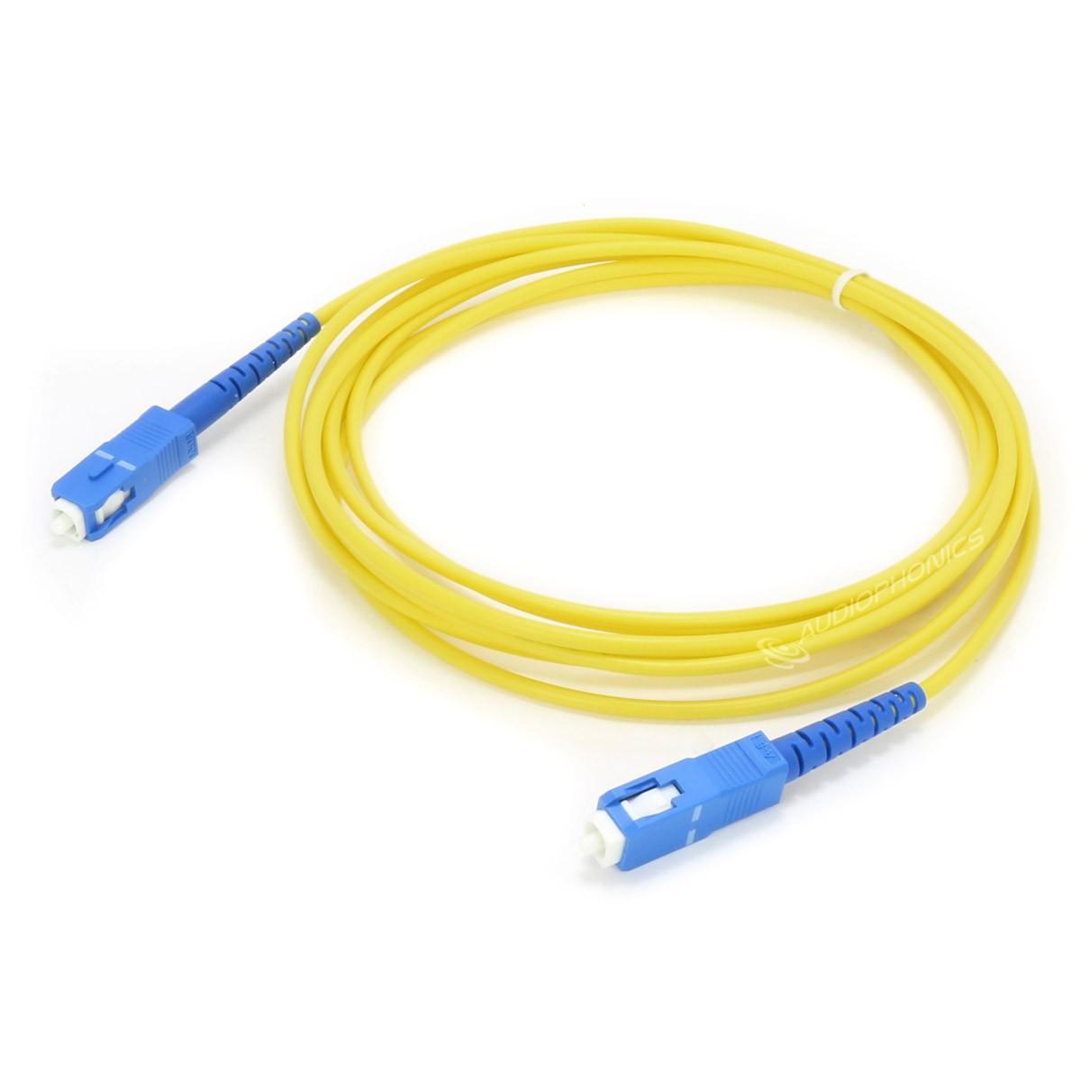 Câble Fibre Optique SC / SC 10m