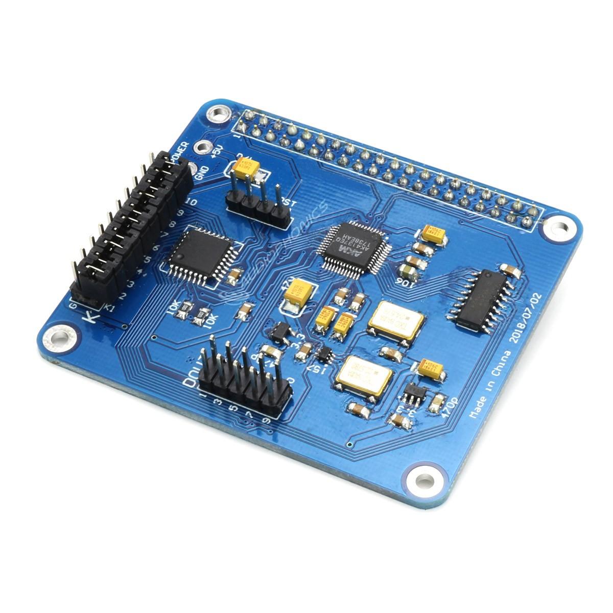 Digital Upsampling Interface SRC AK4137 I2S 32Bit / 384kHz DSD256 HAT for Rapberry Pi
