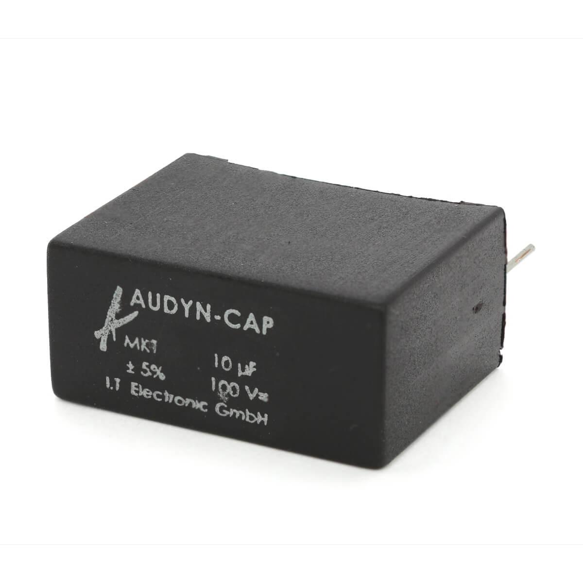 AUDYN CAP Radial MKT Capacitor 100V 10µF