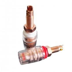 CC RCS Borniers Cuivre Red Copper Isolés Traitement Cryogénique