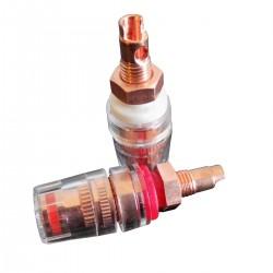 CC RCS S Borniers Courts Cuivre Red Copper Isolés Traitement Cryogénique