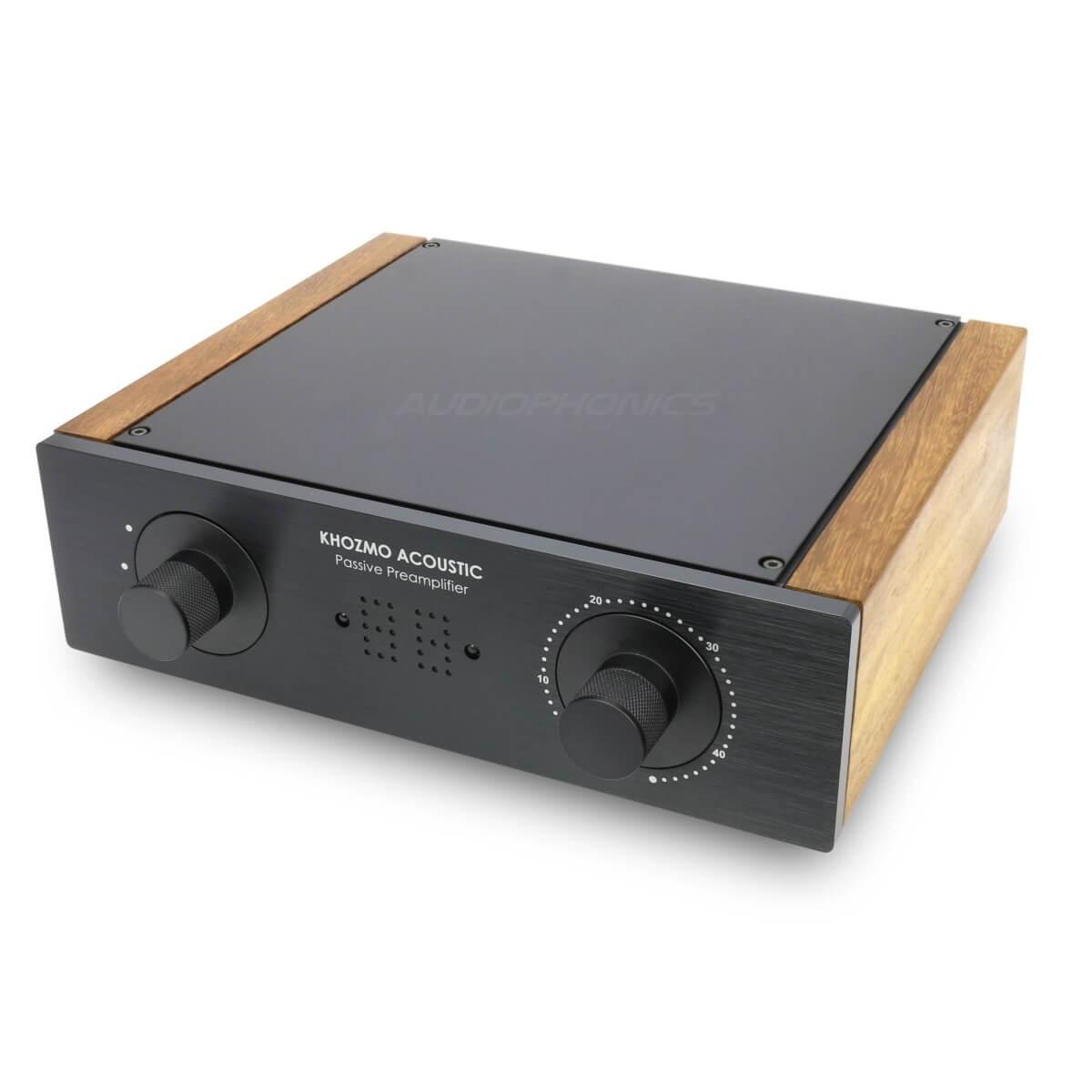 KHOZMO ACOUSTIC Volume Controller / Source Selector 10K + Remote Control Black
