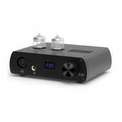 LOXJIE P20 Amplificateur Casque Symétrique à Tubes 2x 6N3 Noir