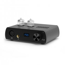 LOXJIE P20 Balanced Tubes Headphone Amplifier 2x 6N3 Black