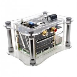 ALLO RPI+KATANA+ISOLATOR V1.2 CASE Acrylic Case for Raspberry Pi 3 + Katana + Isolator V1.2 Transparent
