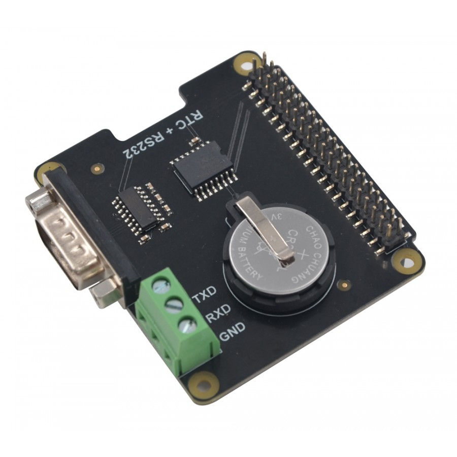 X230 Real Time Clock Module with RS232 Serial Port for