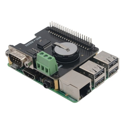 Aluminum Housing with Button for Raspberry Pi and X720