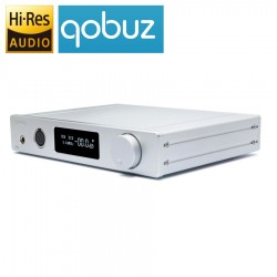 TOPPING DX7s 2xES9038Q2M DAC / Préamplificateur / Ampli casque DSD 32Bit / 768kHz symétrique Argent