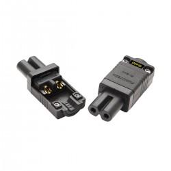 FURUTECH FI-8.1(G) Connecteur IEC C7 Plaqué Or Traitement Alpha Ø10.5mm