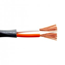 CANARE 2S11F Câble Haut-Parleur Cuivre 2x3.62mm² Ø11mm