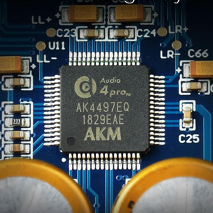TOPPING D70 Balanced DAC 2x AK4497 XMOS XU208 I2S 32bit 768kHz