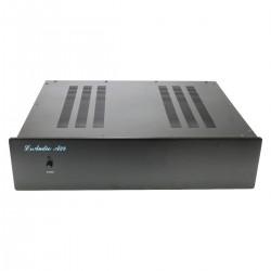 A28D Boîtier Aluminium 410x100x330mm Argent
