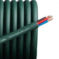 FURUTECH ALPHA 4.1T Câble haut-parleur Bi-câblage 4x2.5mm² Ø 11mm