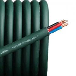 FURUTECH ALPHA 4.1T Câble d'enceinte Bi-câblage 4x2.5mm² Ø11mm