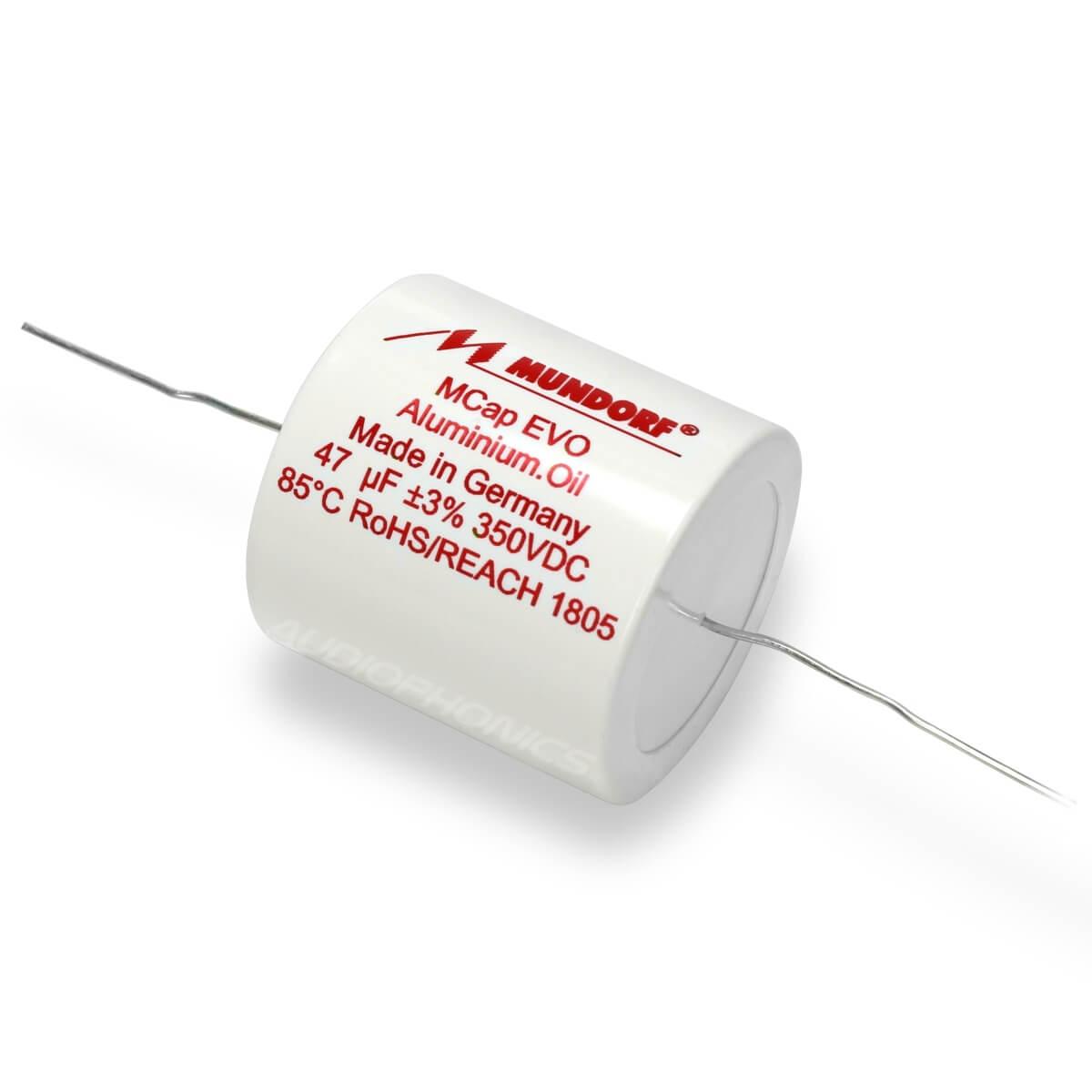 MUNDORF MCAP EVO OIL Condensateur 350V 39µF