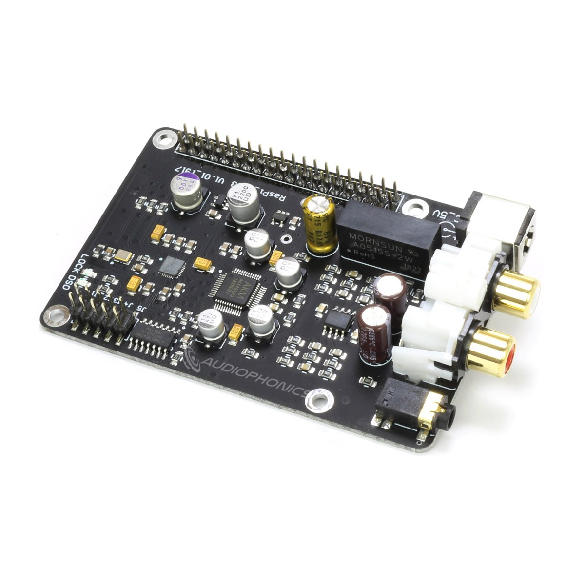 DAC AK4493 Module for Raspberry Pi I2S 32bit 384kHz DSD128