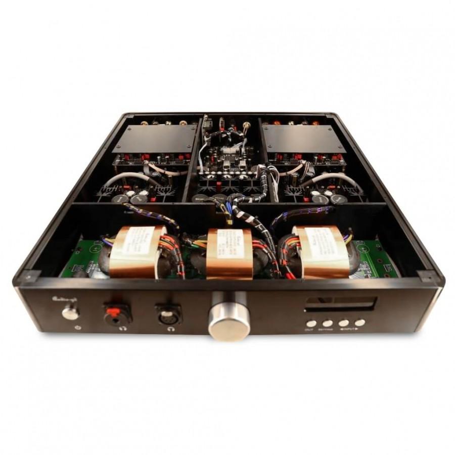 AUDIO-GD R-27 DAC R2R FGPA USB AMANERO HDMI I2S 32 bit 384khz 2x