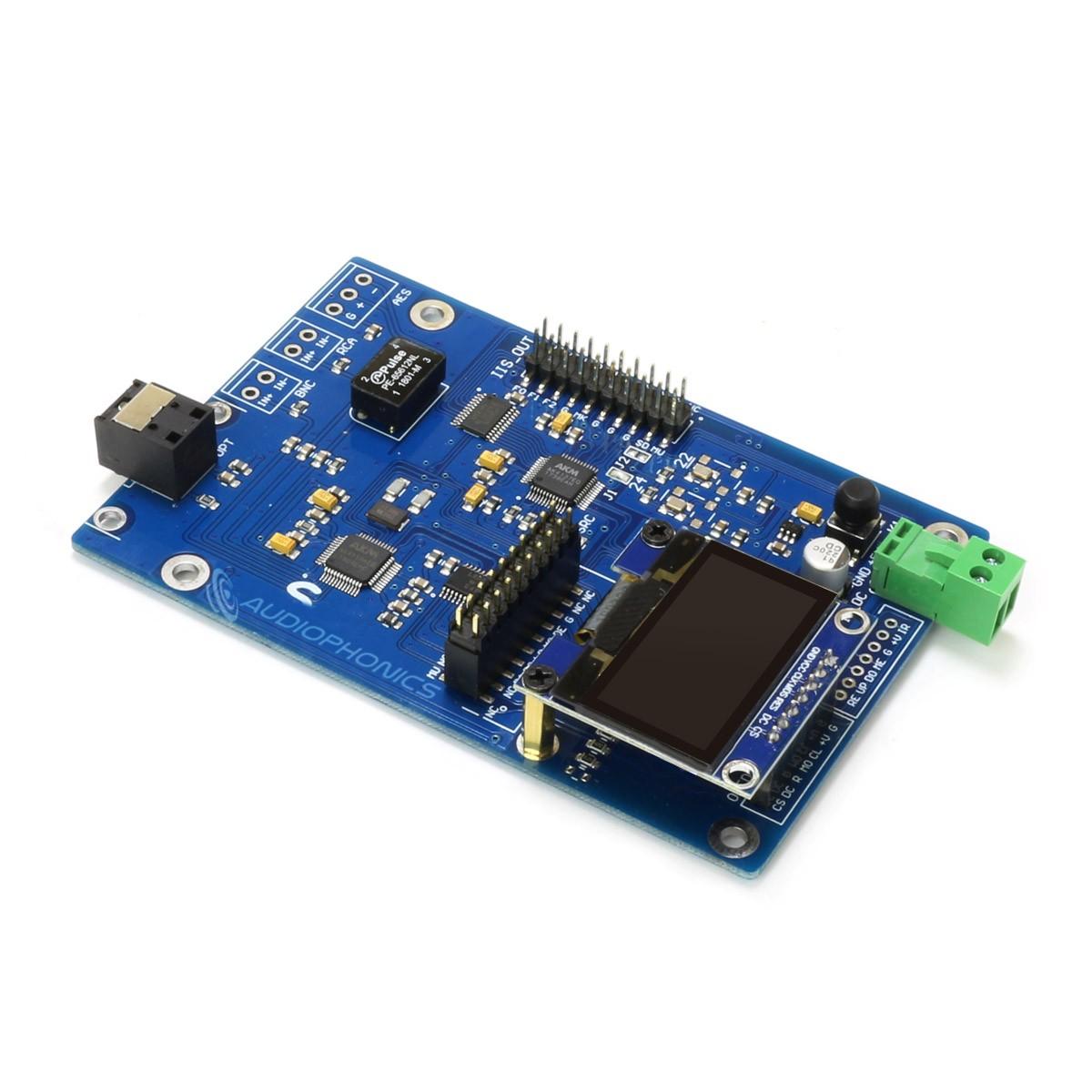 Module Interface Numérique SRC AK4137 AK4118 I2S USB SPDIF 32bit 384kHz DSD256 avec Écran