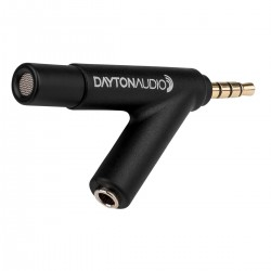 DAYTON IMM-6 Calibrated microphone for iPhone iPad and Android