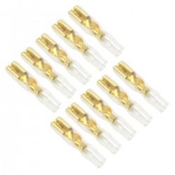 Cosses Femelles 2.8mm Plaquées Or (Set x10)
