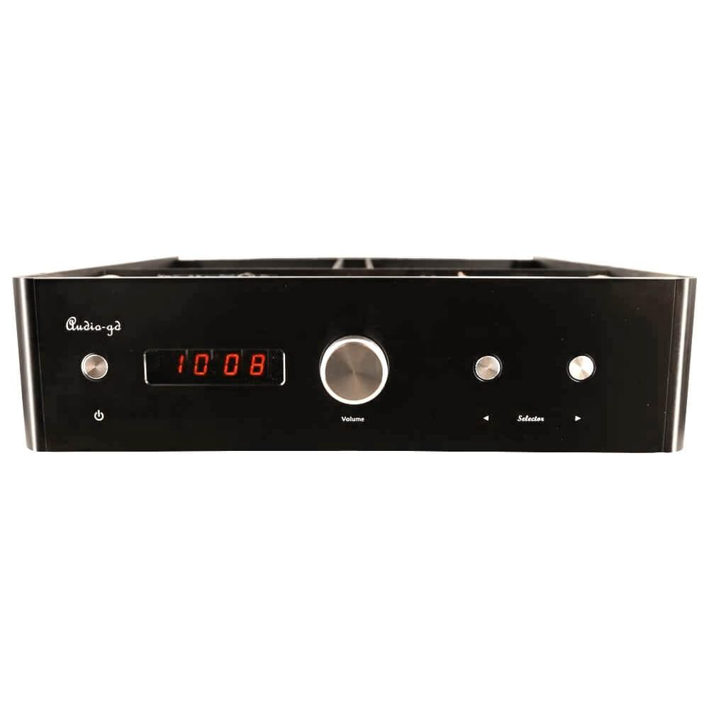 AUDIO-GD Vacuum HE1 XLR Préamplificateur à tubes symétrique 6H2N-EB / 6U4N-EB
