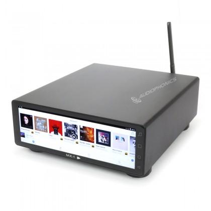 JF DIGITAL MX-PRO Lecteur Réseau Android 7.1 WiFi RJ45 Bluetooth 32bit 768kHz DSD512