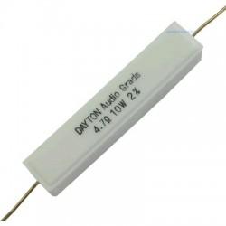 DAYTON AUDIO DNR 10W - Precision Ceramic Resistor 1.0ohm