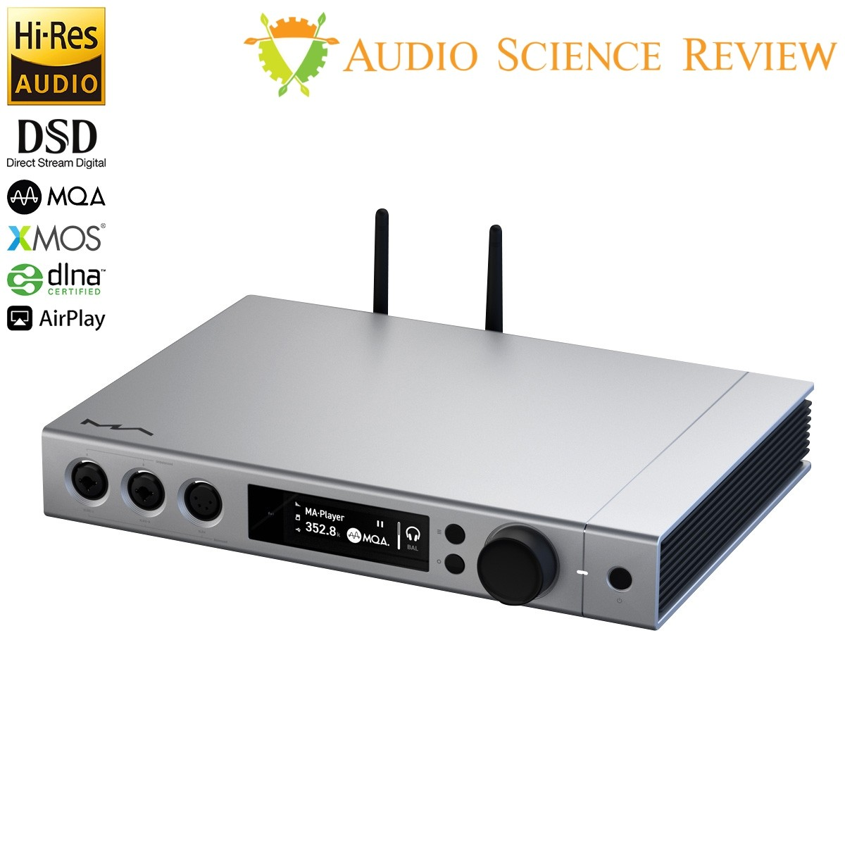MATRIX ELEMENT X Lecteur Réseau DAC ES9038PRO XMOS WiFi Femtoclock 32bit 768kHz DSD1024