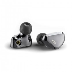 IBASSO IT01S In-Ear Monitor Dynamic Driver Nanotube Diaphragm Ø10mm 16 Ohm Gray