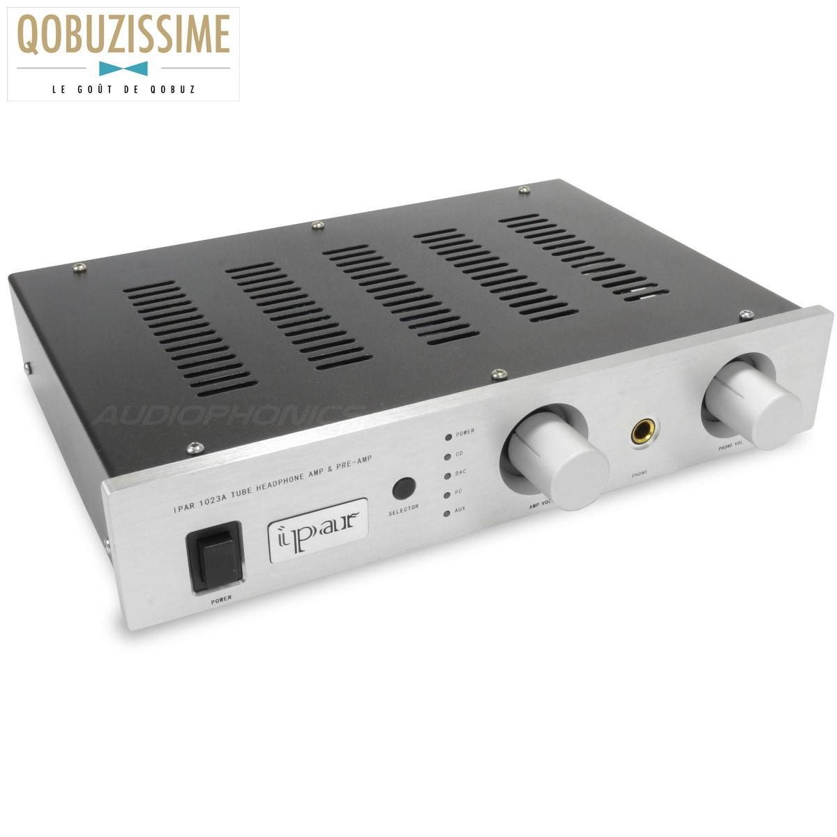 IPAR 1023A Preamplifier / Volume Controller / Headphone Amplifier / Source Selector