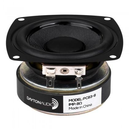 DAYTON AUDIO PC83-8 Speaker Driver Full Range 30W 8 Ohm 85.6dB 80Hz-20khz Ø7.6cm