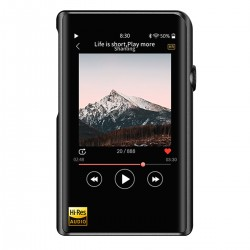 SHANLING M2X DAP High Fidelity Digital Audio Player DAC AK4490 32bit 384kHz DSD256 Black