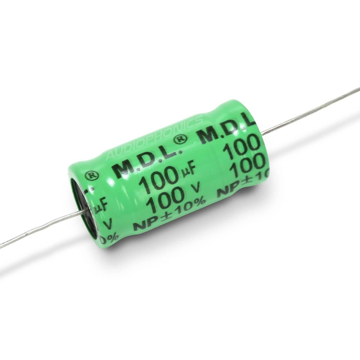 JANTZEN AUDIO Condensateur Électrolytique 100V 100µF