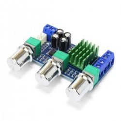 Module Amplificateur TPA3116D2 avec Contrôle de Tonalité 2x25W 8 Ohm