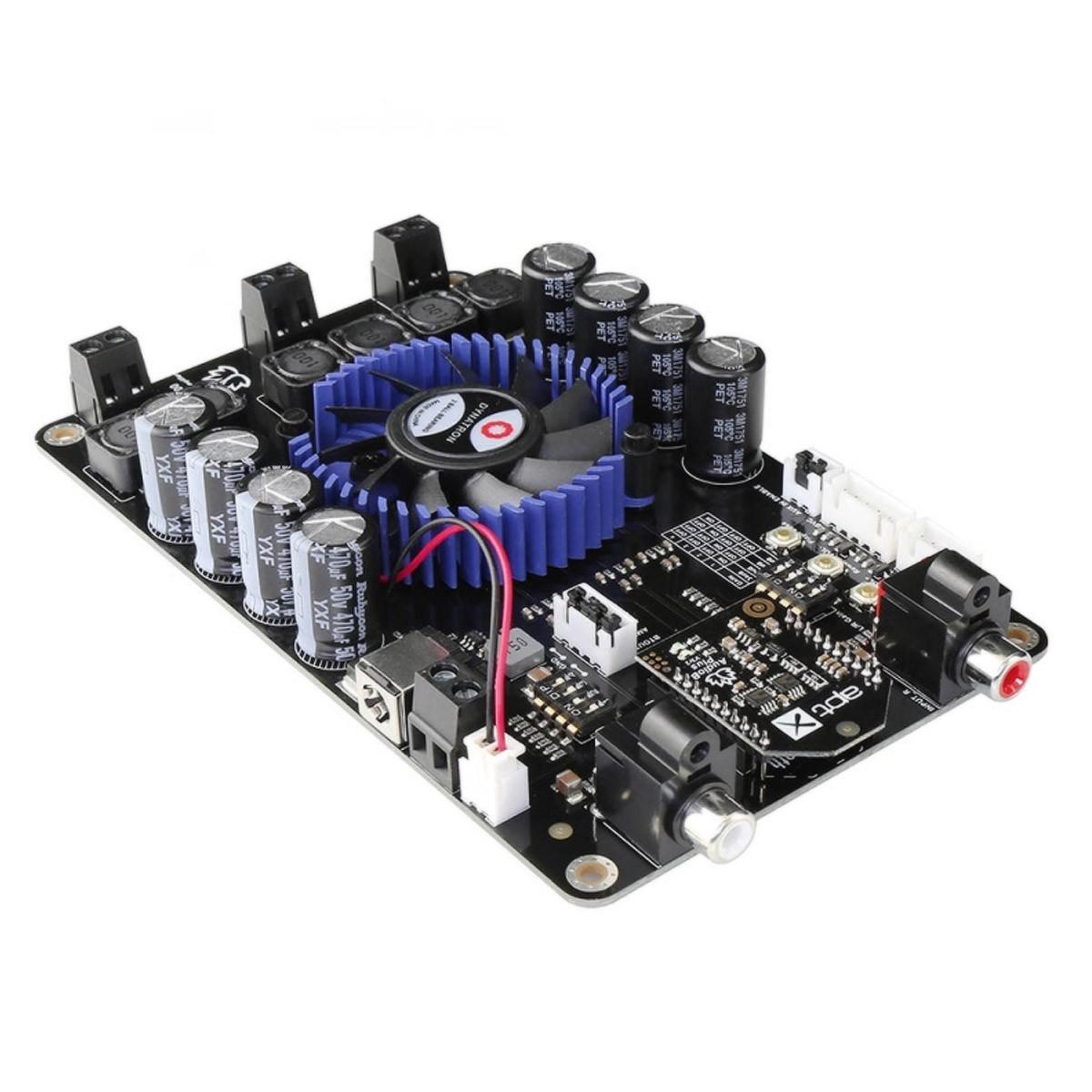 TINYSINE TSA7500B Module Amplificateur 2.1 TPA3221 Bluetooth aptX 2x100W + 200W