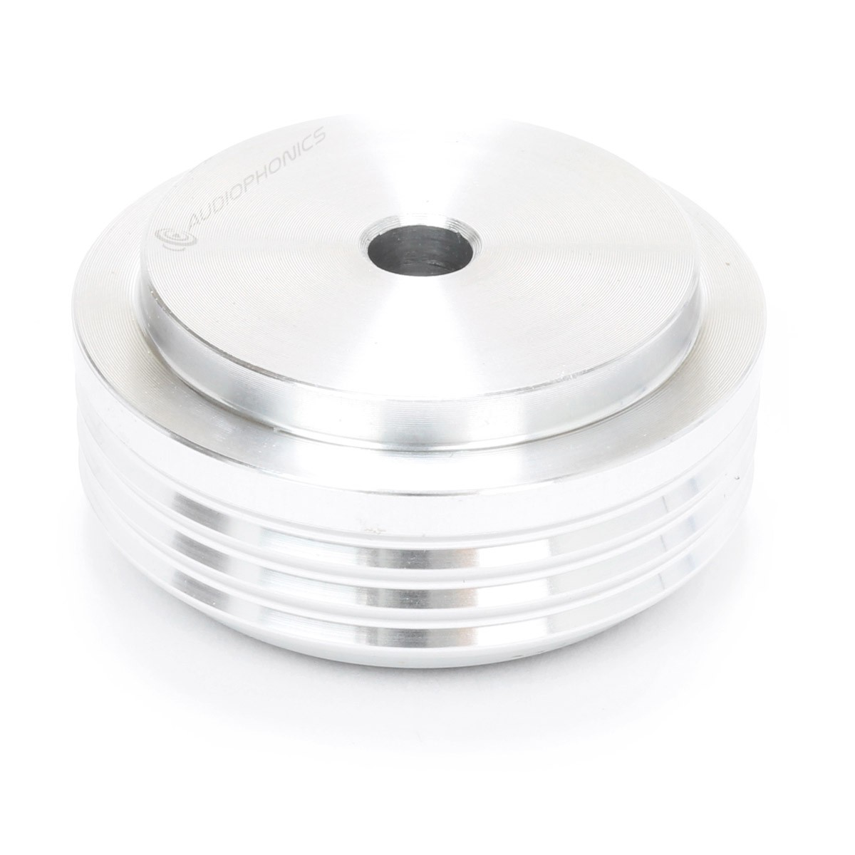 Pied Aluminium Anodisé Ø30x14mm Argent (Unité)
