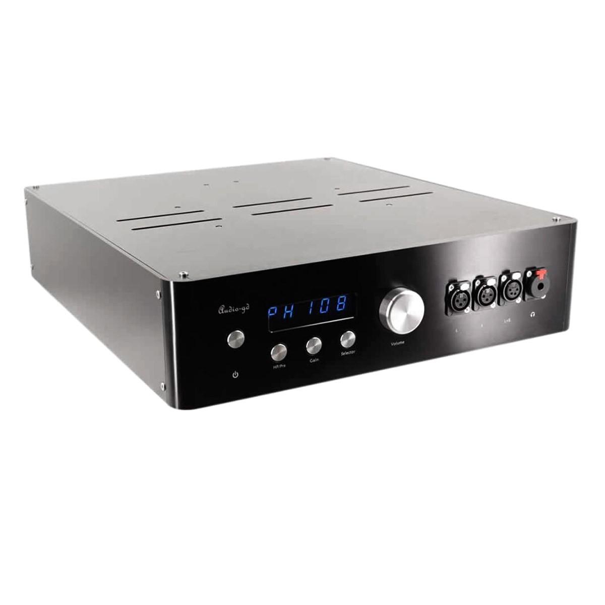 AUDIO-GD HE-9 2019 EDITION Préamplificateur / Amplificateur Casque Symétrique ACSS RCA XLR