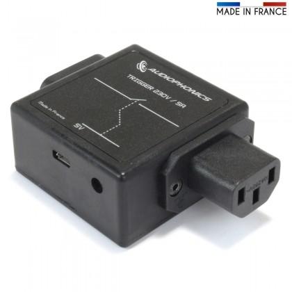 AUDIOPHONICS Trigger Micro USB 5V sur prise IEC Déclencheur d'alimentation