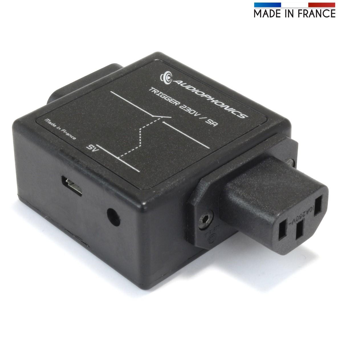 AUDIOPHONICS Trigger Micro-USB 5V 230 V Slave Power Supply Device