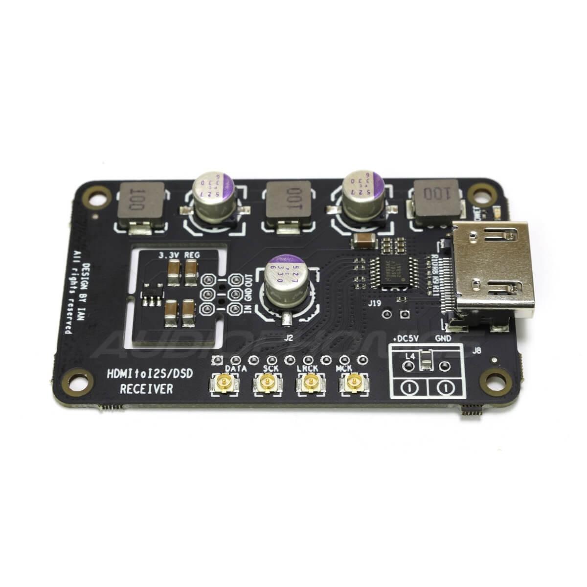 IAN CANADA HDMIpi Receiver HDMI to I2S / DSD / DoP